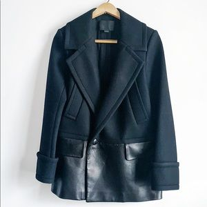 Alexander Wang Jackets & Coats - Alexander Wang wool and leather jacket